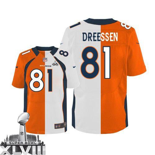 888e12481 Denver Broncos jersey-Nike Denver Broncos Authentic Logo NFL T-Shirt - Navy  Blue