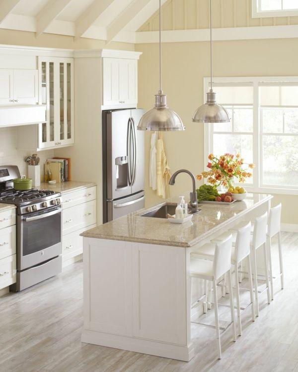 Moderne Kochinsel küchenblock freistehend rustikal | Küchen ... | {Küchenblock freistehend maße 39}