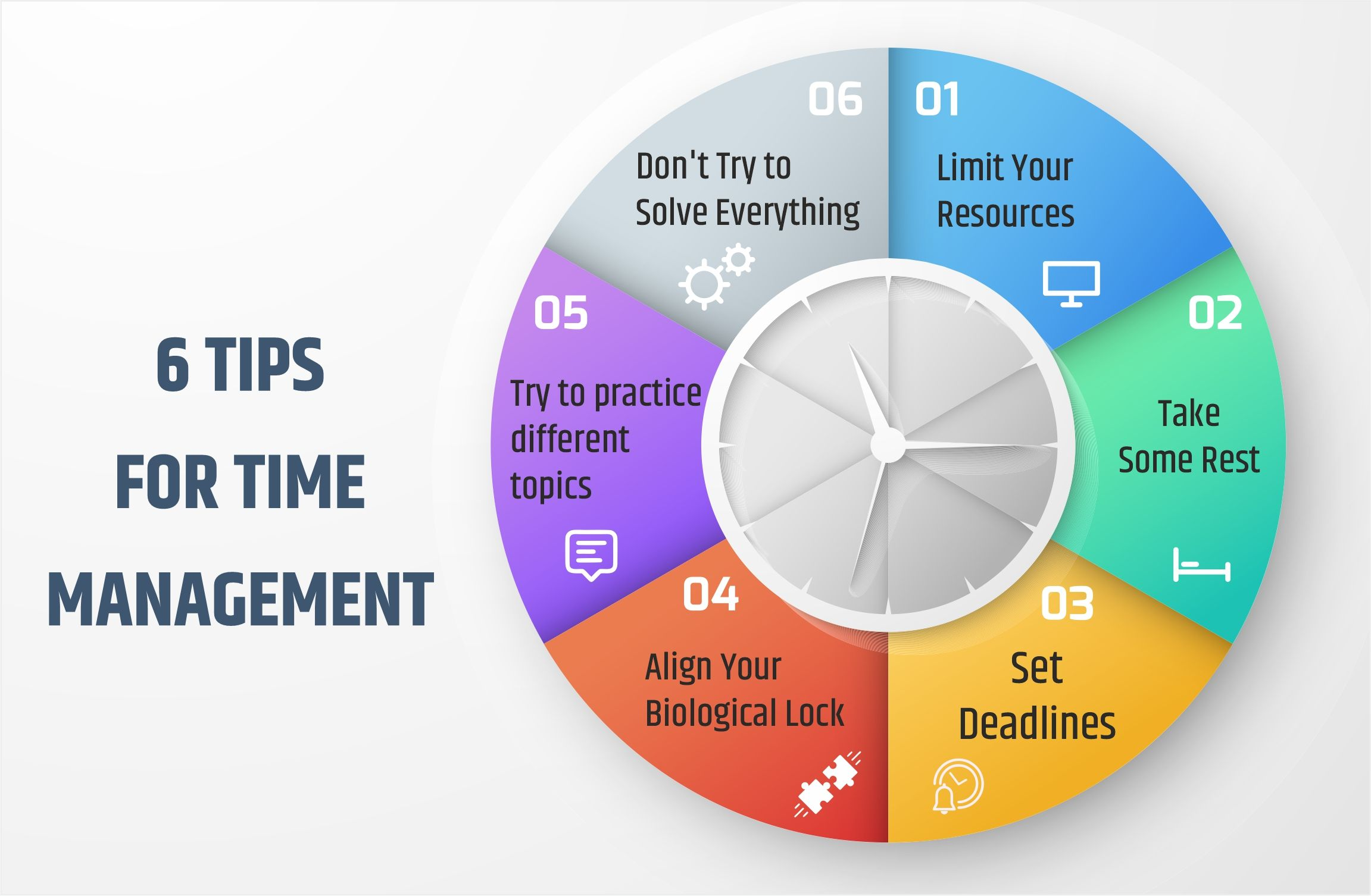 Six Tips For Time Management Ias Online Course Time Management Management Tips