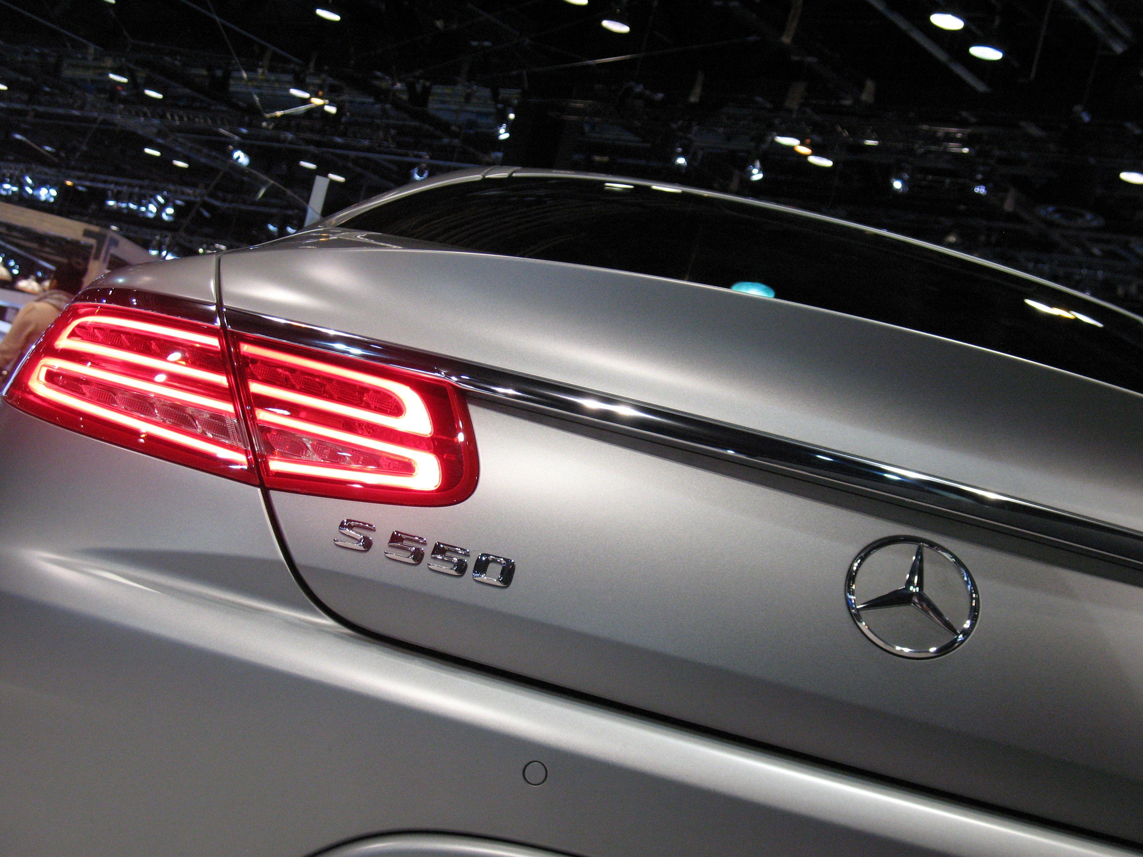 2016 Mercedes Benz S550 Coupe Rear Benz S550 Mercedes Benz S550 Mercedes Benz S550 Coupe