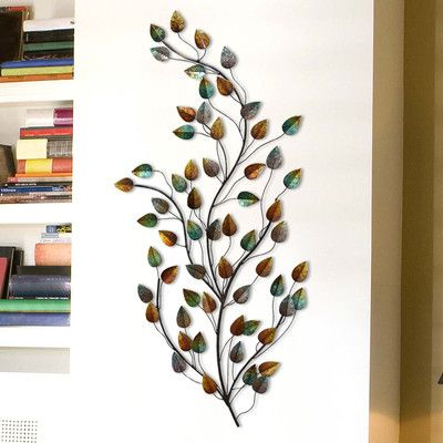 Stratton Home Decor Grand Blowing Leaves Wall Decor Stratton Home Decor Decor Home Decor
