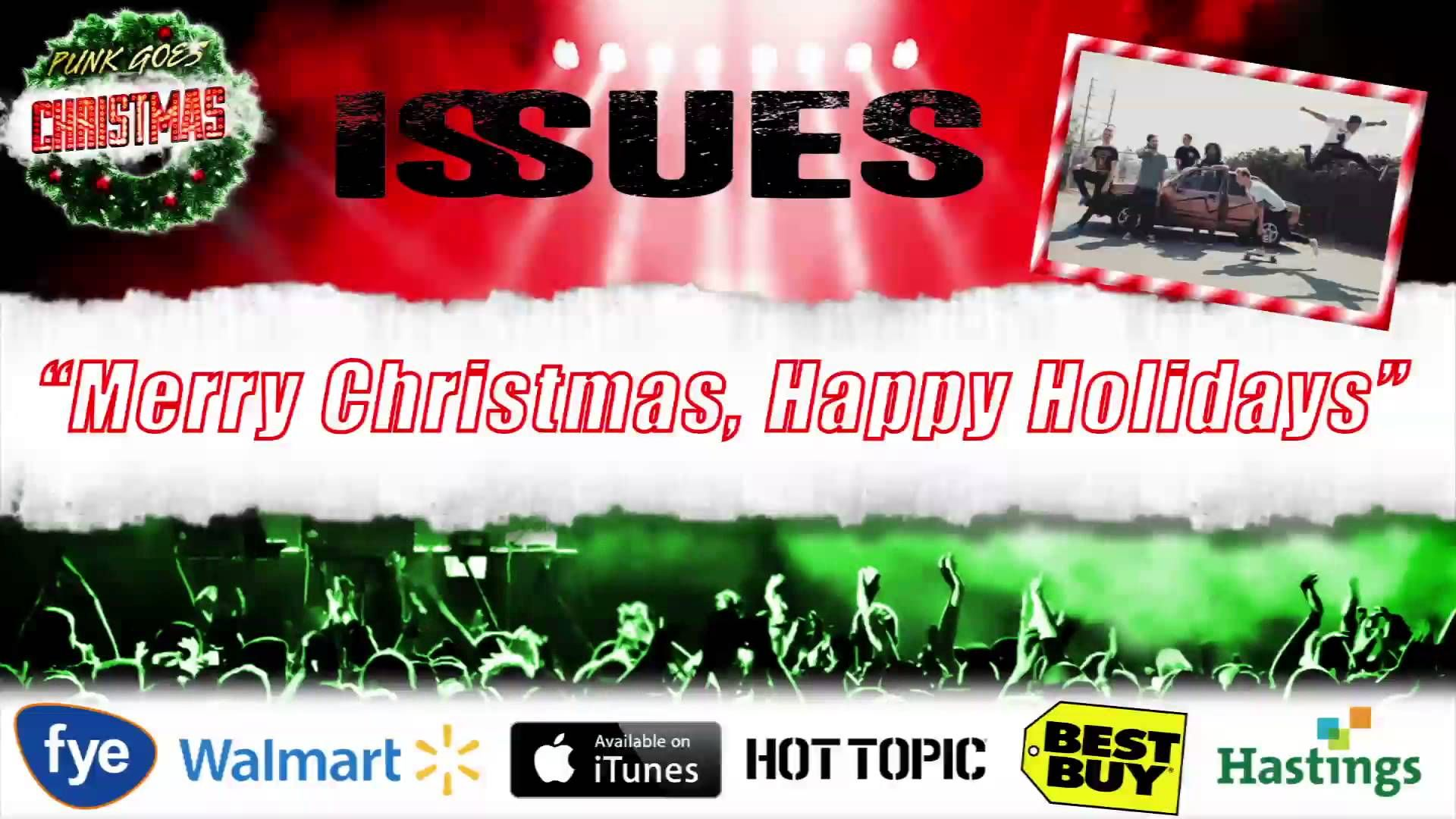 ISSUES - Merry Christmas, Happy Holidays (\'N Sync Cover - Punk Goes ...