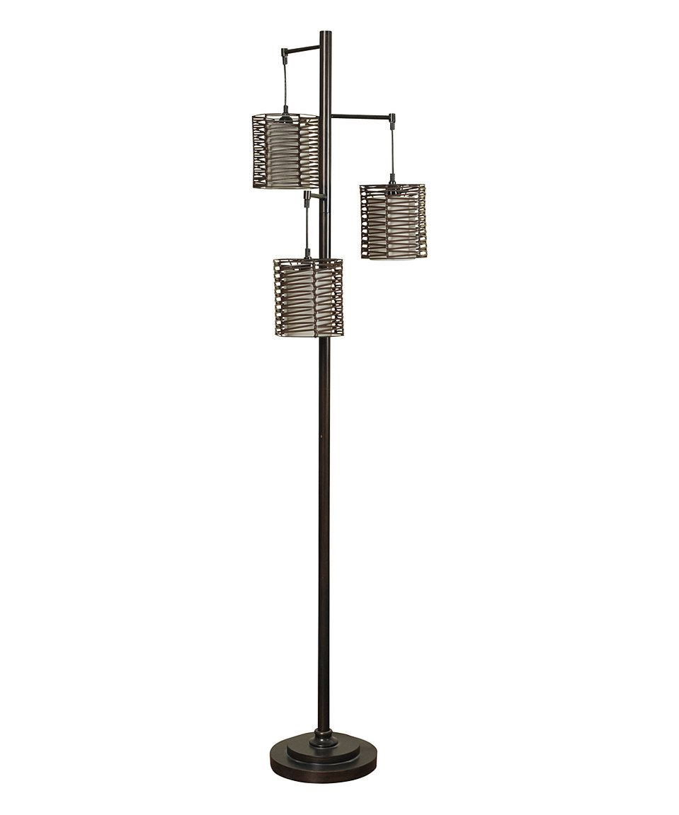 Loving this stylecraft hand woven three light floor lamp on loving this stylecraft hand woven three light floor lamp on zulily mozeypictures Image collections