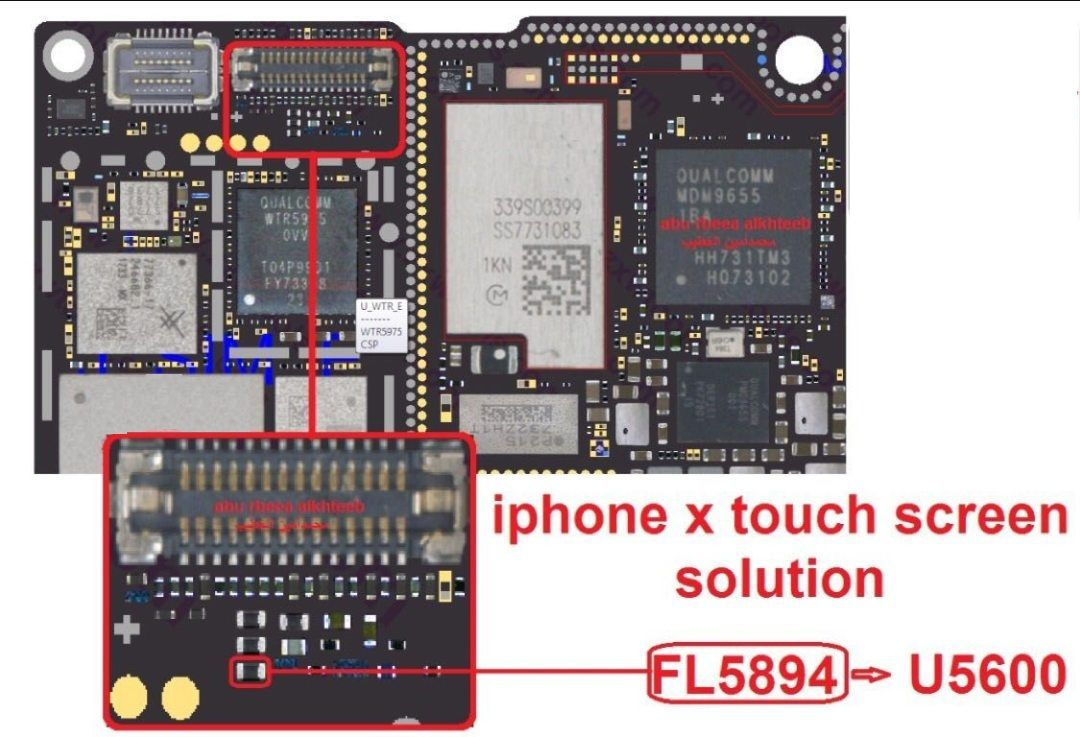 Iphone X Touch Screen Solution Apple Iphone Repair Smartphone Repair Iphone Solution