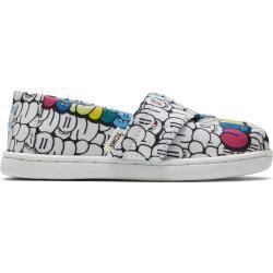 Toms Schuhe Bubble Graffiti Canvas Classics Für Kleinkinder – Größe 22 TomsToms