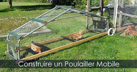 Comment construire un poulailler mobile plans guides - Comment construire un poulailler ...