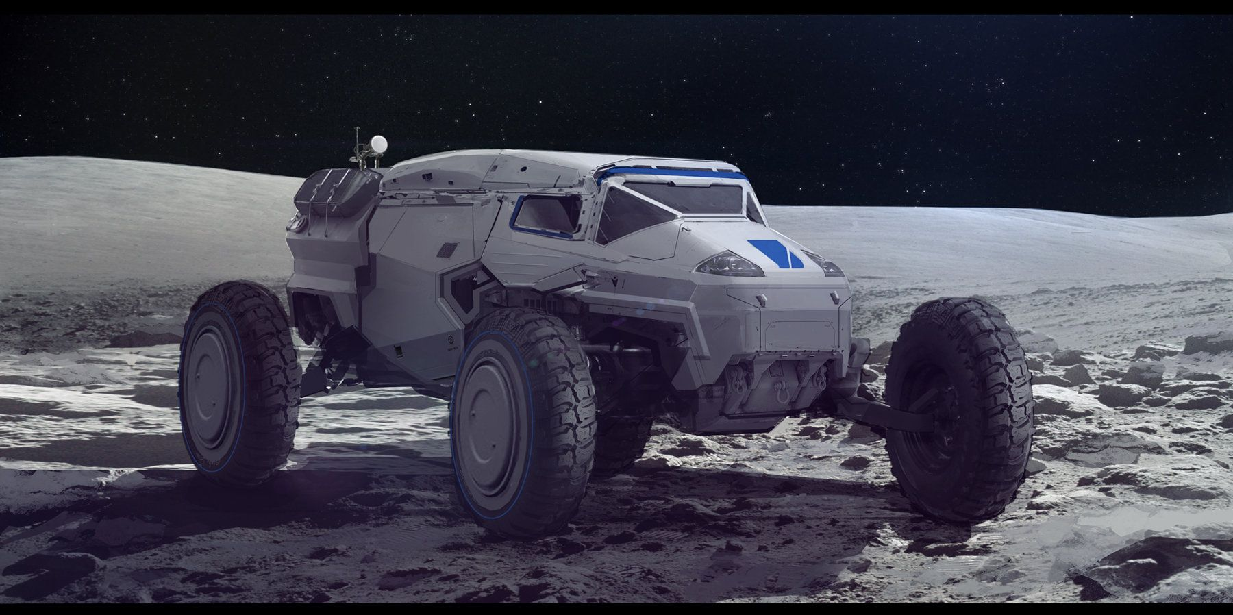 ArtStation - Rover, Sam Brown