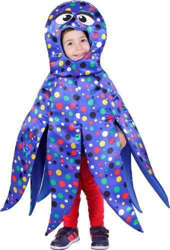 13558e288 Disfraz de pulpo para niño