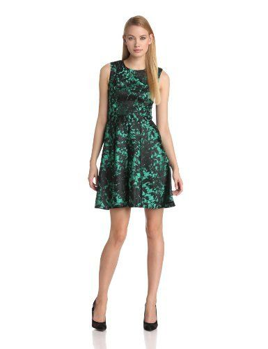 Ivy & Blu Women's Sleeveless Brocade Fit-and-Flare Dress with Cut Out Back Ivy & Blu, http://www.amazon.com/dp/B00CY9X30Y/ref=cm_sw_r_pi_dp_GBIYsb0E3F9RP7HH