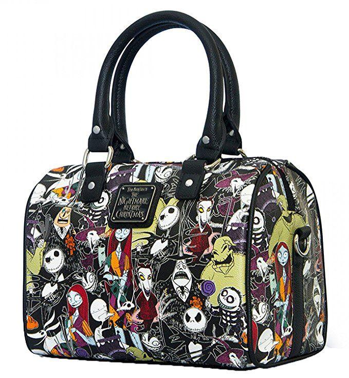 Nightmare Before Christmas Purses Handbags.Amazon Com Loungefly X Nightmare Before Christmas Character