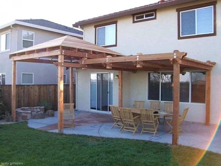 40 Luxury And Beautiful Pergola Design Ideas Pergola Exterior Planos De Pergola Disenos De Pergola