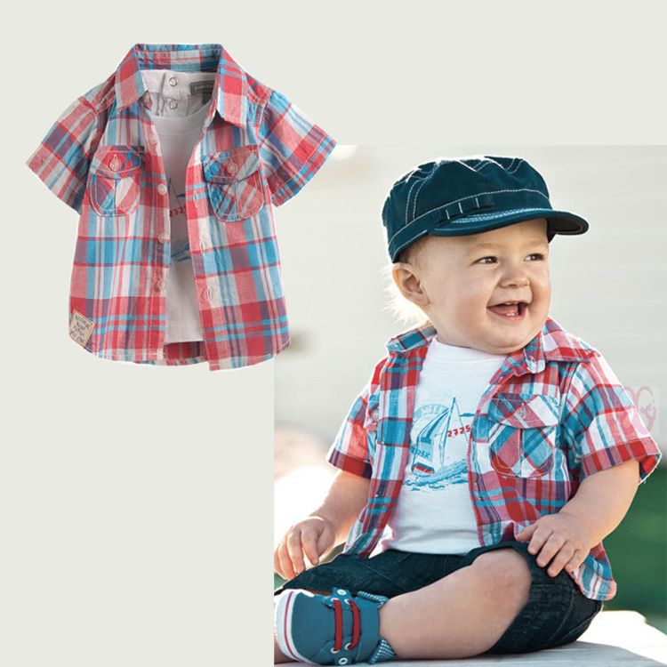 2013 Summer Baby Boys Clothes Trend Set Fashion Kids Short