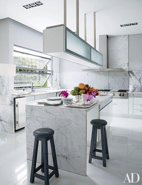 35 sleek and inspiring contemporary kitchens