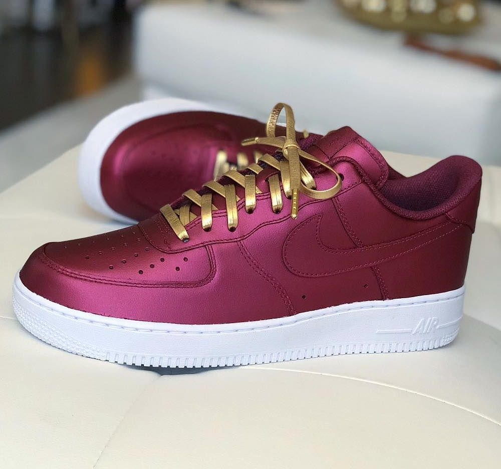 Nice Clean Air Force 1 Leather Shoe Laces Luxury Sneakers Nike Shoes Air Force