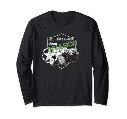 Check This New Jeep Invasion Shirt Great Smoky Mountain 2019 Long