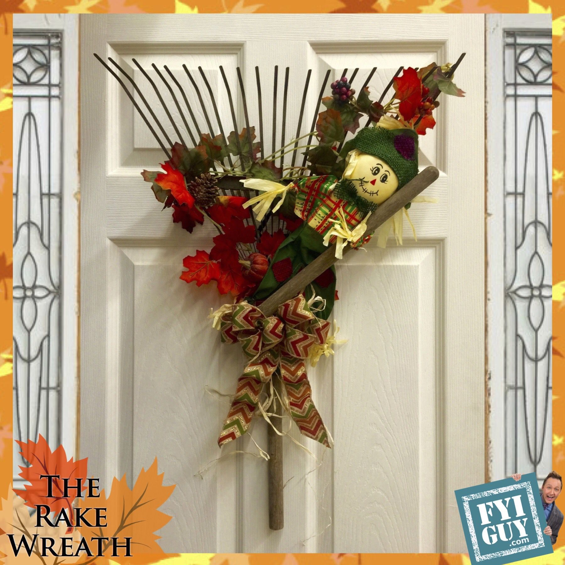 Superb Get Ready For Fall With The Rake Wreath!