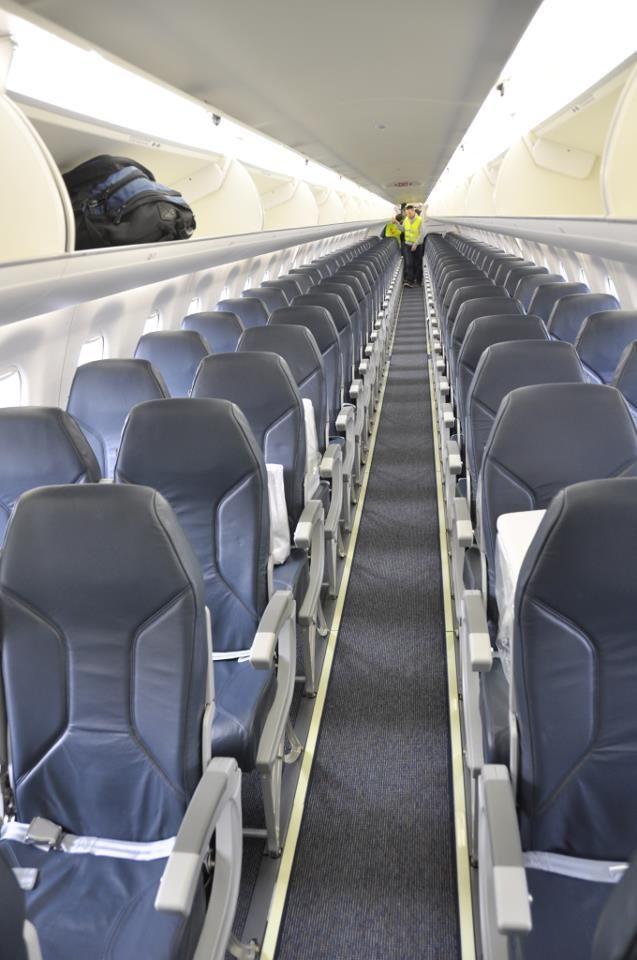 Interior E-jet Jetairfly | Flying | Pinterest | Jets