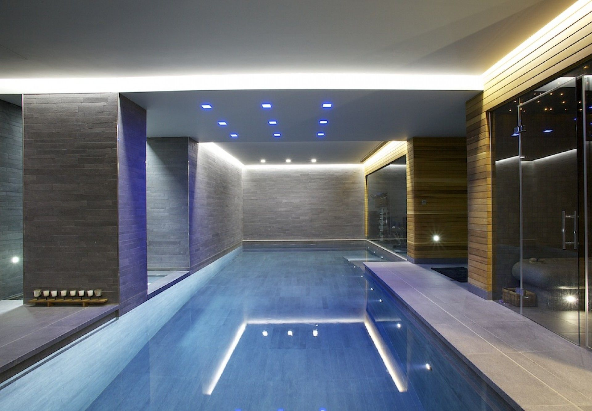 sculpture of indoor swimming pool ideas