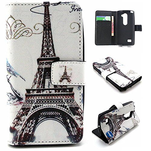 LG LEON C40 Case, Adela Shop 2 in 1 Flip Premium PU Leather Wallet Case Soft TPU Back Built-in Card/Cash Slots Protective Skin With Stand Feature For LG Leon LTE C40/LG Tribute 2 (Eiffel Tower) Deego http://www.amazon.com/dp/B015C5CMSK/ref=cm_sw_r_pi_dp_98Tgwb1GZYBXN