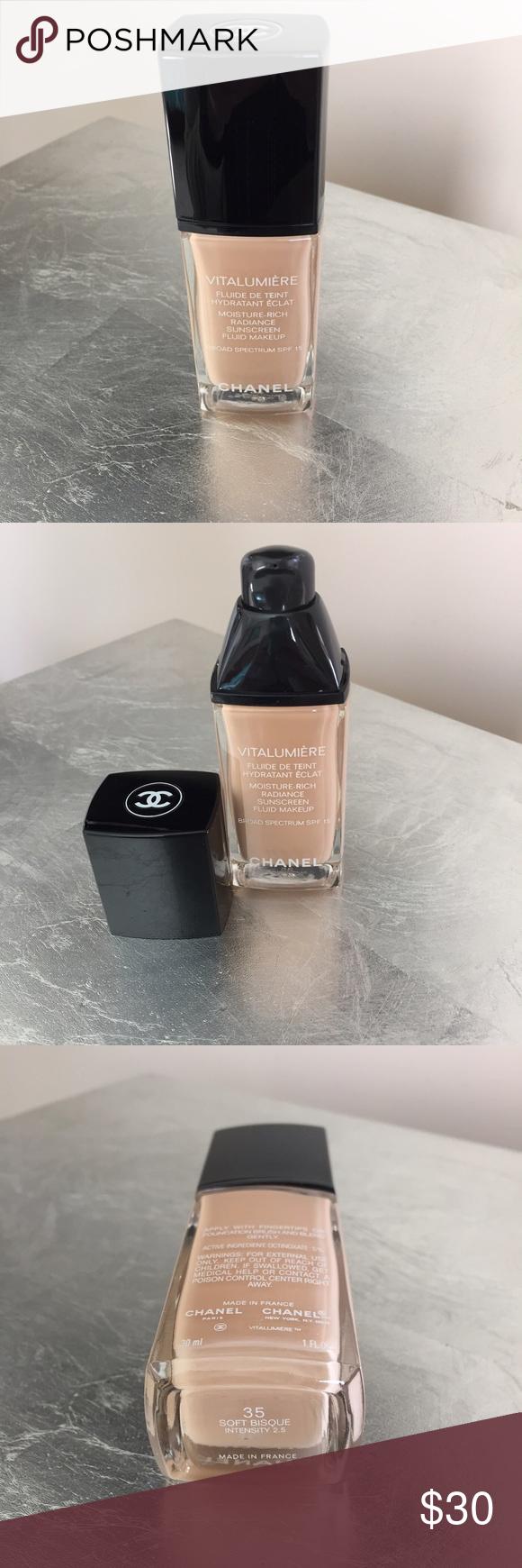CHANEL VITALUMIÈRE Foundation Chanel makeup foundation