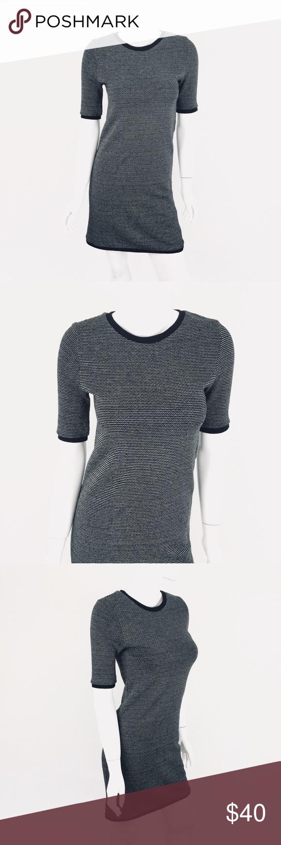 Zara Trafaluc Knit Dress M Medium Short Sleeve Knit Dress Dresses Clothes Design [ 1740 x 580 Pixel ]