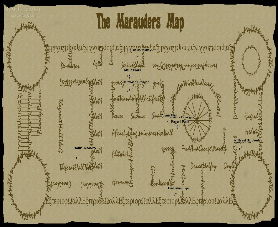 the marauders map marauders map by Humanbornonmars on