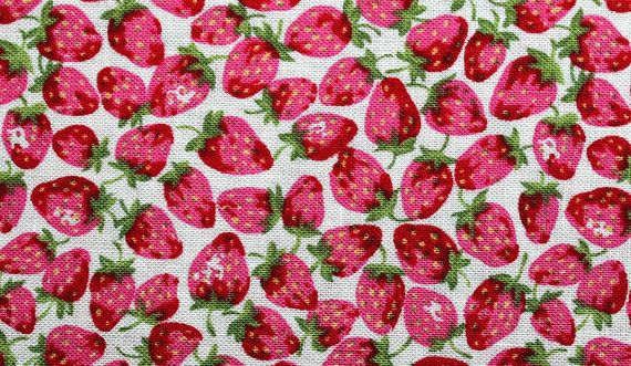 Strawberry Fields Forever by Irie Sistreen on Etsy