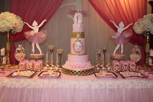 8 Creative Baby Shower Themes for Girls  Ballerina baby showers