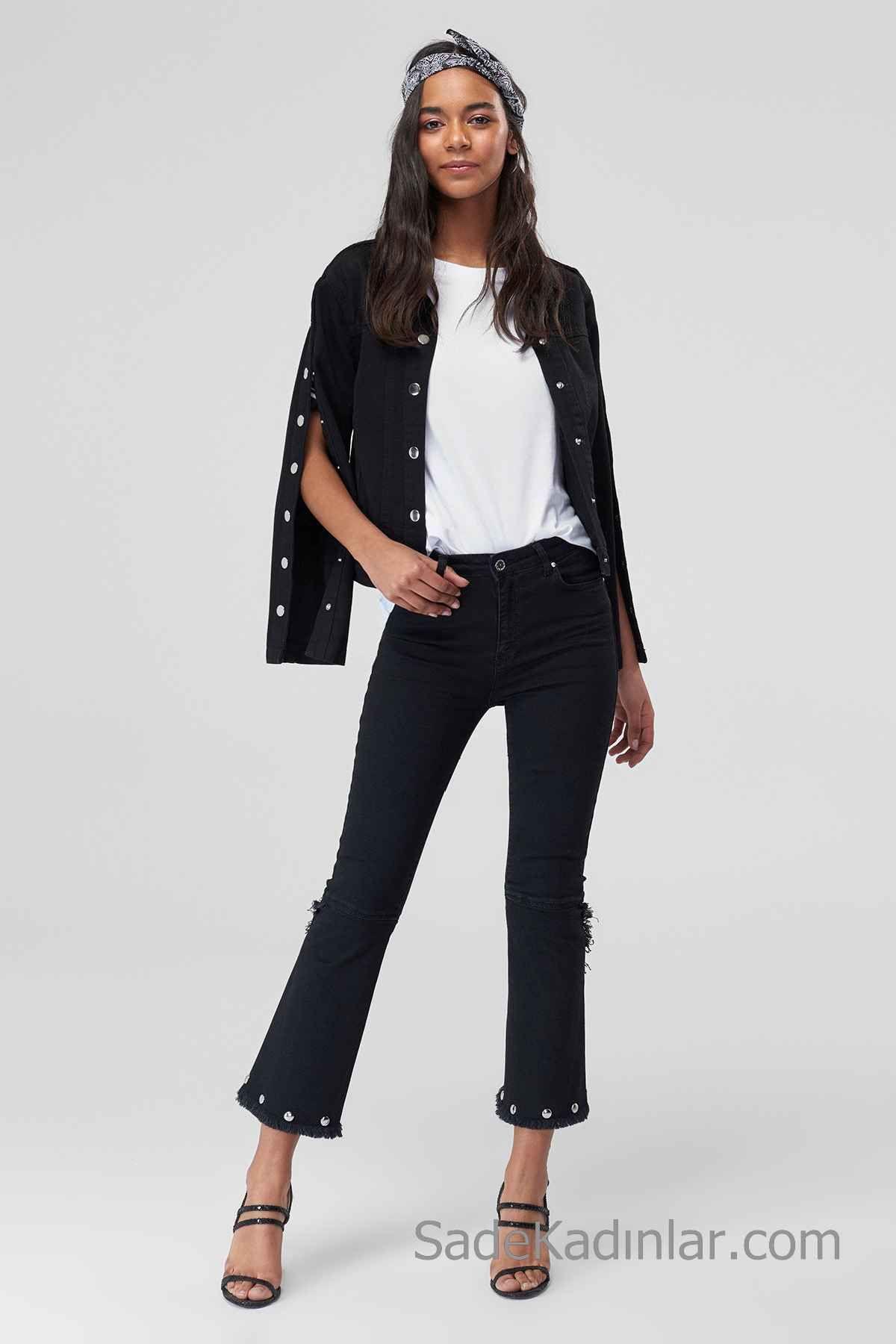 2019 Bol Jean Modelleri ve Kombinleri Bayan