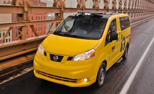 The Nissan Nv200 New York Citys Next Taxi Cab Taxi And Nissan