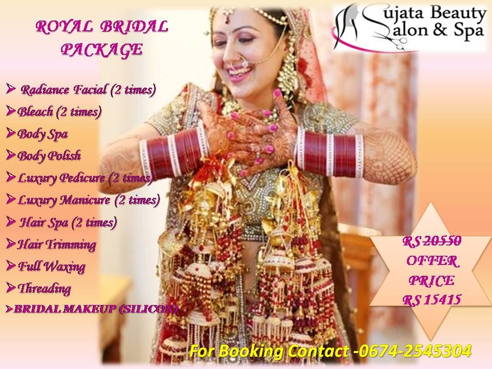 Special packages for Bridals in Sujata Beauty Parlour at