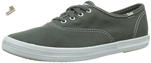 f41dcb48cad Keds Champion CVO Grey Womens Plimsolls   Sneakers