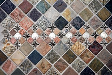 Pewter Tile Inserts Decorative Tiles Backsplashes Wall Accents