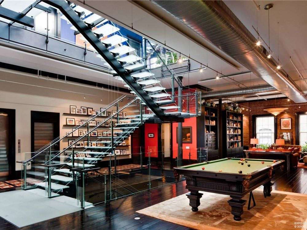 Tribeca Loft Mansion A Un Style Million Dollar