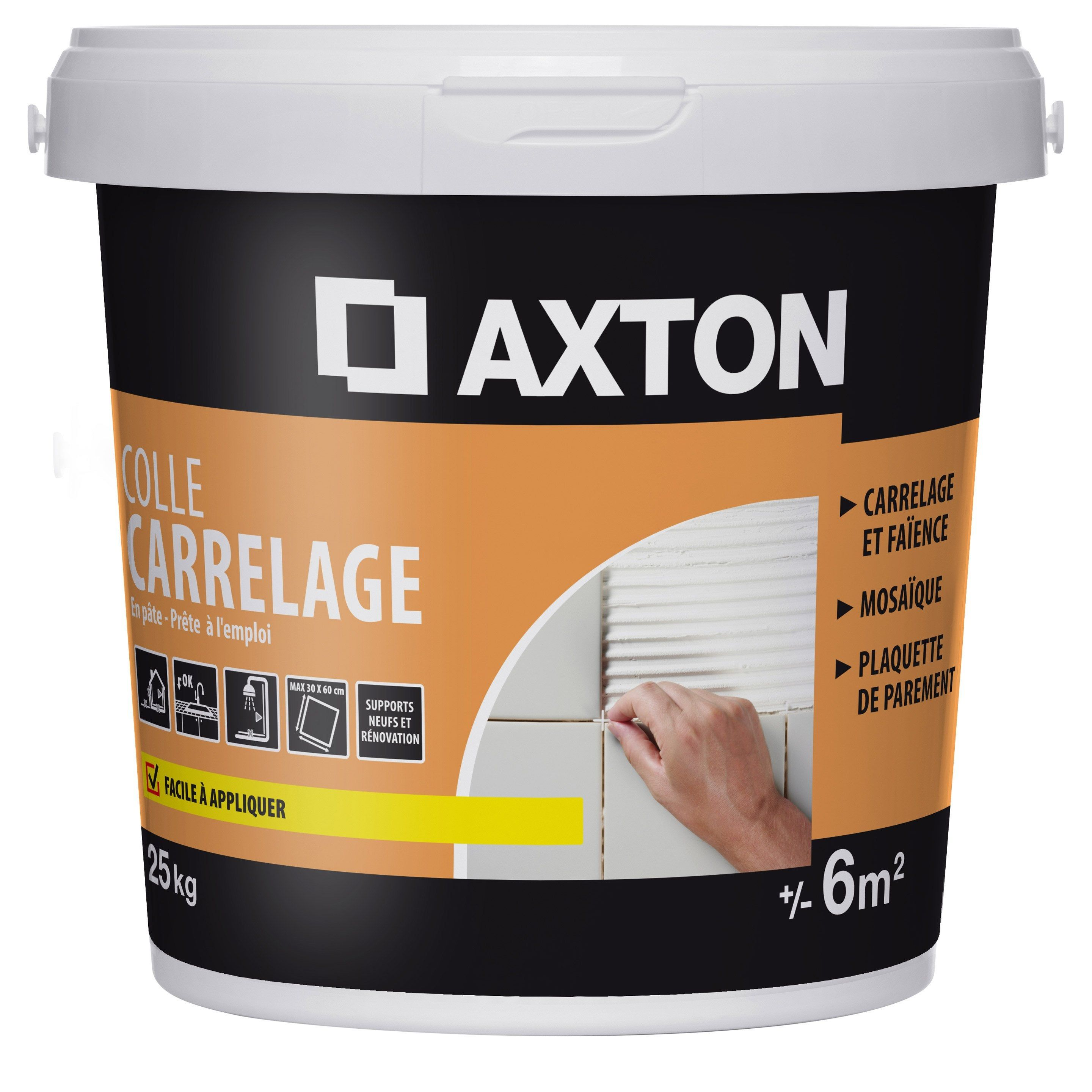 Colle Pâte Axton Blanc 25 Kg 6 M² Products En 2019