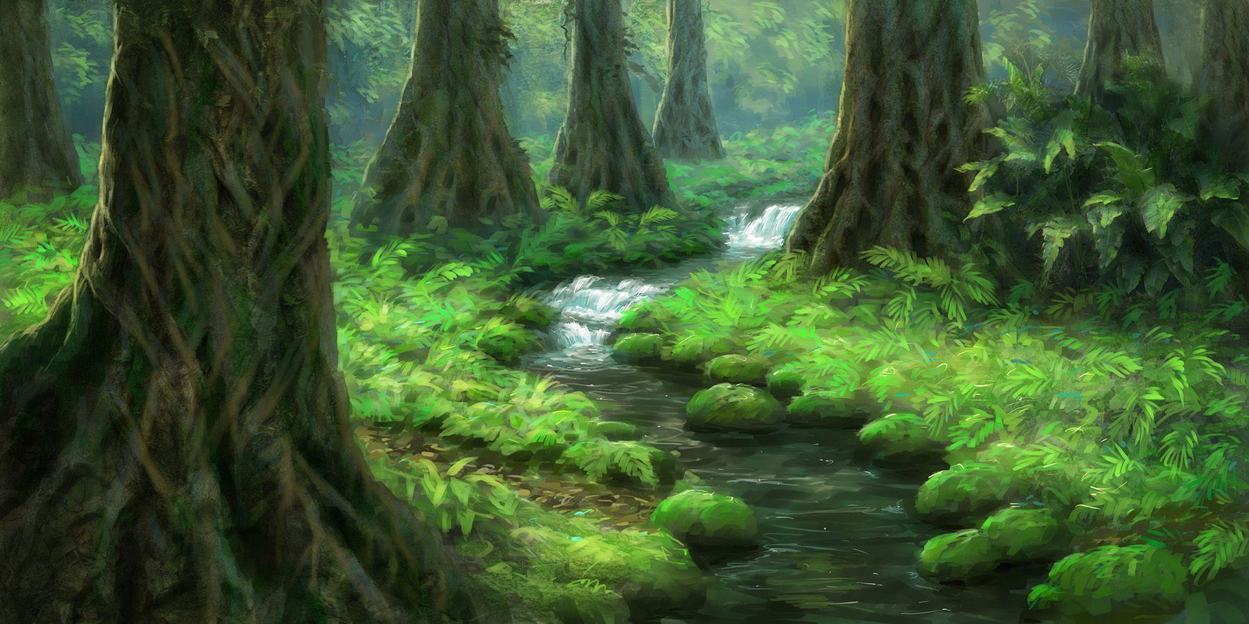 Jungle Wallpaper World Of Warcraft: Concept Art, Illustrations And Art Google