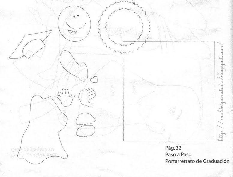 Moldes graduados en foami - Imagui | muestras | Pinterest