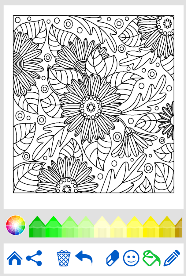 Coloring Book For Adults Android Apps On Play Coloring Book App Coloring Books Love Coloring Pages
