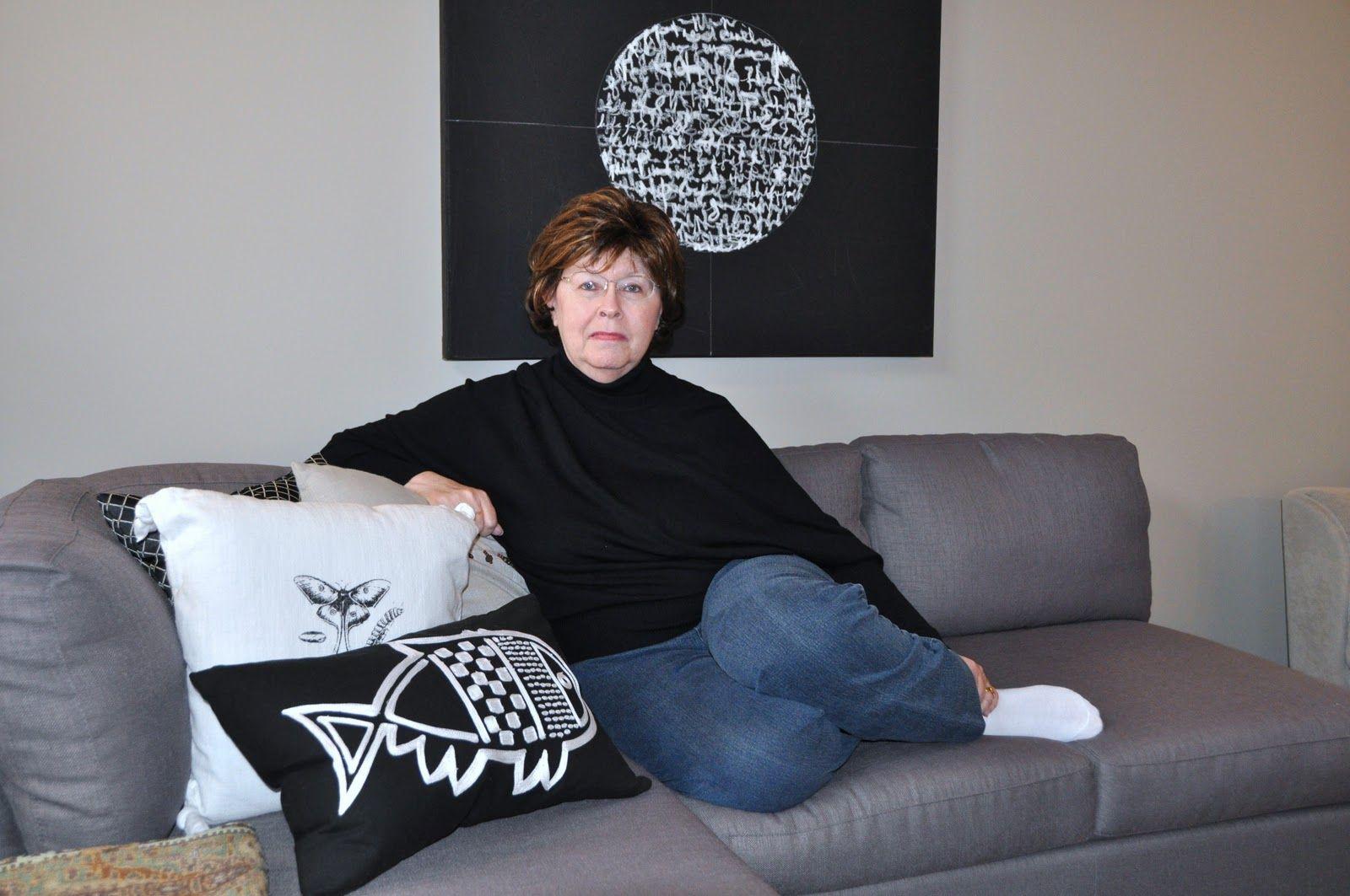 Judy Thorley Ontario, Canada Bean bag chair, Home decor