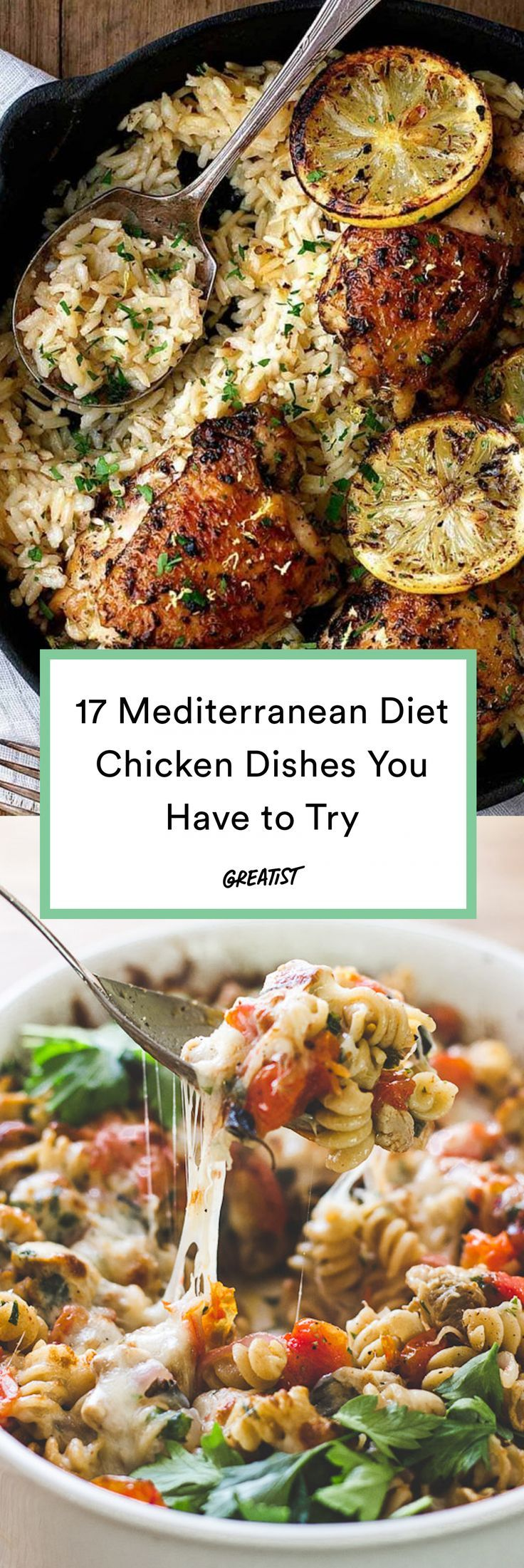 17 Mediterranean Diet Chicken Recipes to Make for Weeknight Dinners images