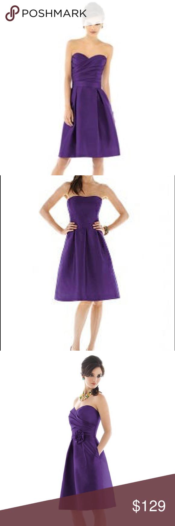 Alfred Sung Dress is flirty & fun
