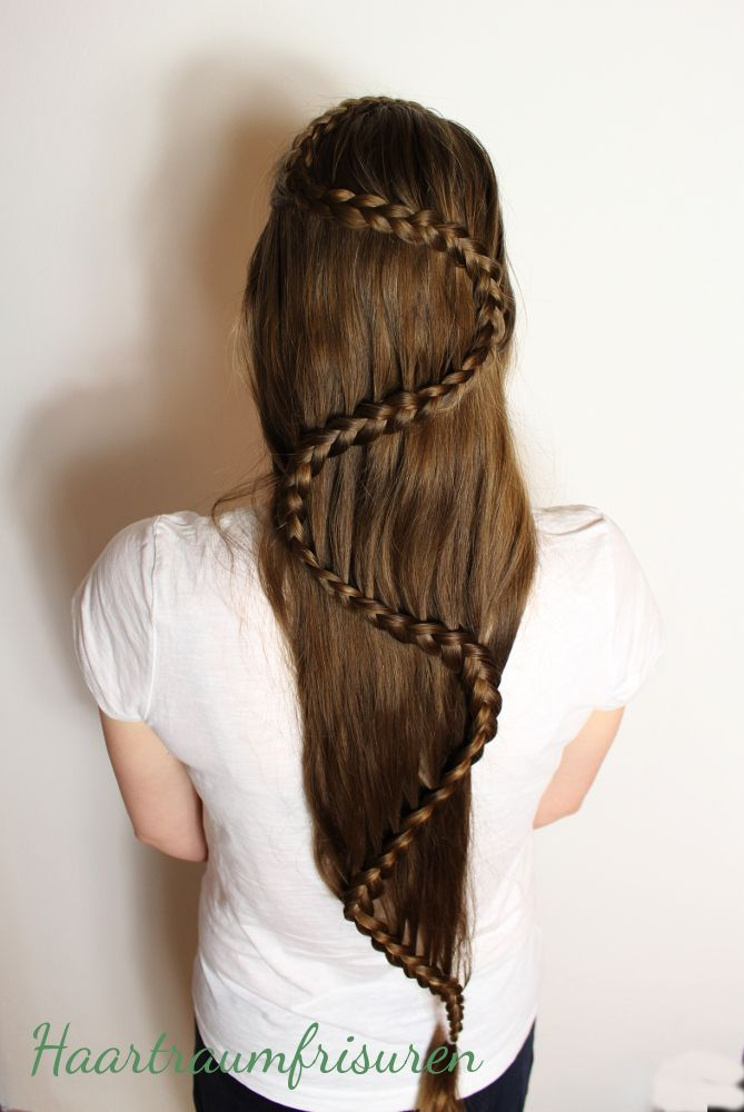 Snake Braid Long Hair Inspiration
