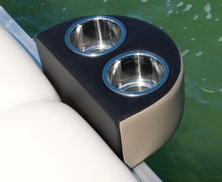 Portable Cup Holder Option For Pontoon Boats Avalon