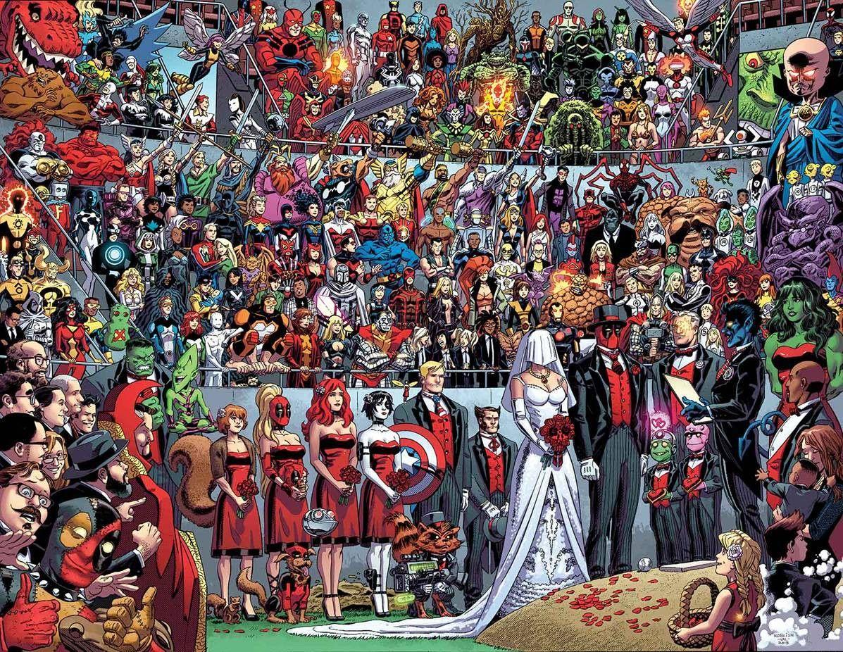 Deadpool 27 Marvel Wedding Marvel Deadpool Deadpool