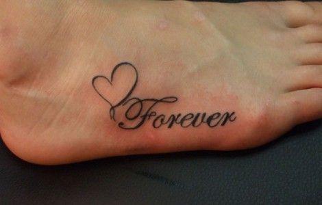 Eternal Love Tattoos Symbols Cool Tattoos Designs Small Heart Tattoos Forever Tattoo Foot Tattoos