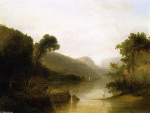 Landscape with Figures - (Thomas Doughty)