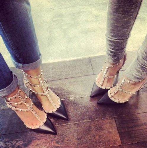 3eebf3c784248 Valentino Always Makes A Good Point! Accessorize your with these amazing  heels!