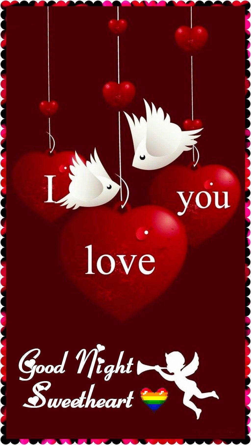Pin By Srujana N On Good Nightsrj Love Wallpaper Valentines
