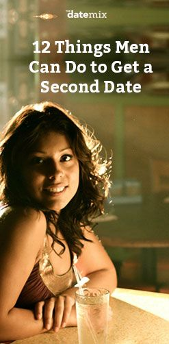 second date tips for men