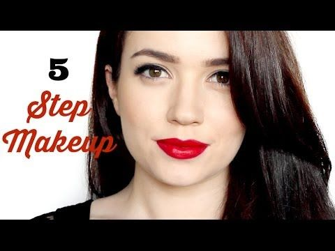 day to night  5 steps  makeup tutorial  makeup tutorial
